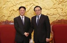 Thúc đẩy quan hệ hợp tác giữa các địa phương Việt Nam-Trung Quốc
