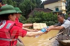 Cứu trợ khẩn cấp gần 2 tỷ đồng cho các tỉnh miền Trung bị mưa lũ