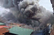 Lâm Đồng: Hỏa hoạn lớn thiêu rụi hai căn nhà cùng nhiều tài sản