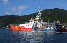 Quảng Ngãi:Tàu cá bị hỏng máy chở 10 thuyền viên trôi tự do trên biển