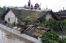 Trung Quốc viện trợ Triều Tiên 3 triệu USD khắc phục hậu quả lũ lụt