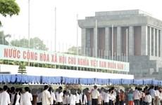 Tiếp tục tổ chức lễ viếng Chủ tịch Hồ Chí Minh từ ngày 6/12