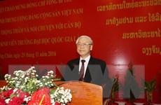 Tổng Bí thư: Quan hệ đặc biệt Việt-Lào là tài sản chung vô giá