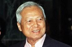 Thái Lan: Tái bổ nhiệm chức Chủ tịch Hội đồng Cơ mật cho ông Prem
