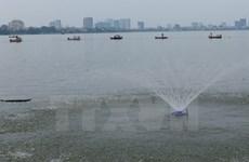 Hà Nội mở rộng phạm vi xử lý nước hồ ô nhiễm tại ngoại thành