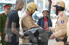 Hà Nội: Kiên quyết xử lý nghiêm các trường hợp vi phạm giao thông