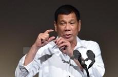 Tổng thống Duterte khẳng định duy trì chiến dịch chống ma túy