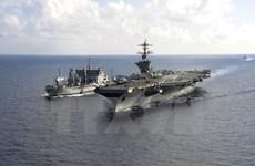 Hải quân Ấn Độ-Mỹ-Nhật tập trận 3 bên về chống tàu ngầm