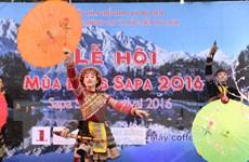 Lào Cai: Chính thức khai mạc Lễ hội mùa đông Sa Pa năm 2016