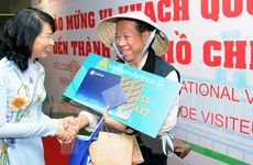 Thành phố Hồ Chí Minh đã đón du khách quốc tế thứ 5 triệu