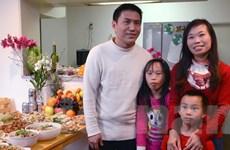Ấm áp tết đoàn viên của gia đình khiếm thị người Việt ở Nhật Bản