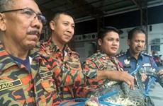 Tá hỏa khi phát hiện cá sấu trong khu chợ đông đúc ở Malaysia