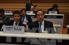 Việt Nam dự hội nghị cấp Bộ trưởng của UNECE tại Thụy Sĩ