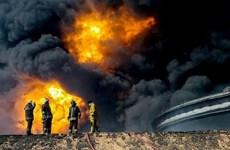 Libya: Lực lượng Tướng Haftar thừa nhận để mất cảng dầu khí