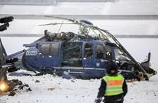Nhật Bản: Rơi máy bay cứu hộ, ít nhất 3 người thiệt mạng
