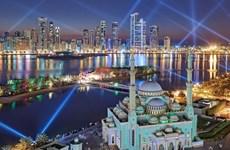 Ảnh đẹp trong tuần: Lung linh lễ hội ánh sáng ở thành phố Shariah