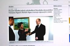 Báo chí Séc đưa đậm nét về Chủ tịch Quốc hội Nguyễn Thị Kim Ngân
