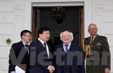 Ireland sẽ hỗ trợ Việt Nam phát triển kinh tế-xã hội, giảm nghèo