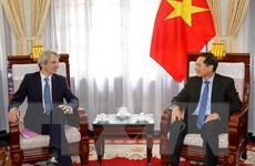Pháp cam kết ủng hộ Việt Nam tăng cường quan hệ toàn diện với EU