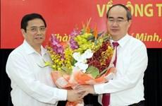 Sự kiện trong nước: Ông Nguyễn Thiện Nhân làm Bí thư Thành ủy TP.HCM