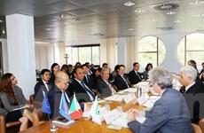 Quan hệ ASEAN và Italy: Ưu tiên hợp tác giữa các vùng