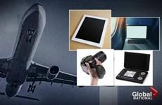 Mỹ tiếp tục cân nhắc cấm thiết bị điện tử cỡ lớn trên máy bay