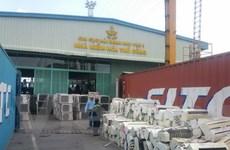 Phát hiện 3 container hàng lậu máy điều hòa tại cảng Cát Lái