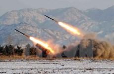Triều Tiên bố trí nhiều máy bay chiến đấu tại thành phố Wonsan