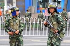 Trung Quốc và Kyrgyzstan diễn tập chống khủng bố ở Tân Cương