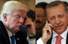 Lãnh đạo Mỹ, Thổ Nhĩ Kỳ thảo luận về khủng hoảng vùng Vịnh
