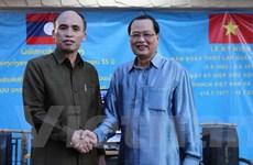 Đại sứ quán Việt Nam và Lào tại Singapore giao lưu hữu nghị