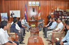 Bộ trưởng Thông tin Campuchia tiếp các cơ quan báo chí Việt Nam