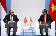 Thủ tướng gặp gỡ lãnh đạo nhiều nước, Liên minh châu Âu và WHO