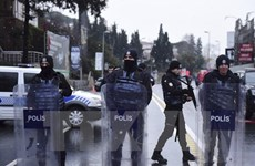 Thổ Nhĩ Kỳ bắt 44 người tình nghi lên kế hoạch tấn công khủng bố