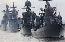 Hải quân Nga diễu binh phô trương rầm rộ trên nhiều vùng biển