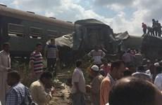 Ai Cập: Số người tử vong vụ tai nạn tàu hỏa tăng lên con số 36