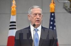 """Bộ trưởng Quốc phòng Mỹ: Nhóm IS """"đang tháo chạy"""" khỏi Iraq"""