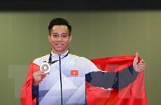 """SEA Games 29: Thể dục dụng cụ Việt Nam tiếp tục """"gặt Vàng"""""""