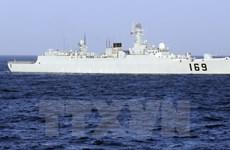 Trung Quốc bắt đầu tập trận bắn đạn thật ở Ấn Độ Dương
