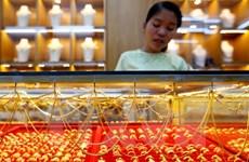 Giá vàng thế giới chạm mức cao nhất trong hơn chín tháng qua