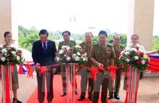 Triển lãm ảnh về hợp tác giữa Bộ An ninh Lào và Bộ Công an Việt Nam
