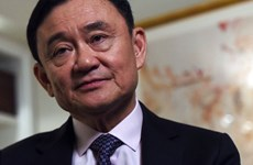 Cựu Thủ tướng Thái Lan Thaksin Shinawatra xuất hiện trên Twitter
