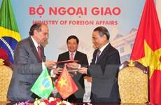 Việt Nam-Brazil phấn đấu nâng kim ngạch hai chiều lên 10 tỷ USD