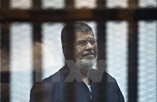 Tòa án Ai Cập giữ nguyên án chung thân với cựu Tổng thống Morsi