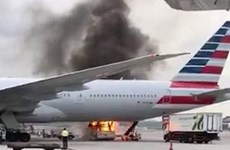 Trung Quốc: Cháy ở sân bay quốc tế Hong Kong, 1 người bị thương