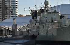Tàu hải quân Australia thăm Philippines, tăng hợp tác quốc phòng