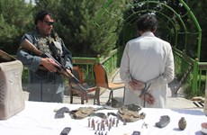 Afghanistan phát hiện một lượng vũ khí lớn của Taliban ở Kabul