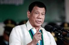 Tổng thống Philippines Rodrigo Duterte bắt đầu công du Nhật Bản