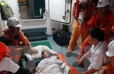Kịp thời đưa thuyền viên nước ngoài bị nạn trên biển vào đất liền