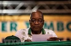 ANC quyết định tương lai của Tổng thống Zuma trong ngày 12/2
